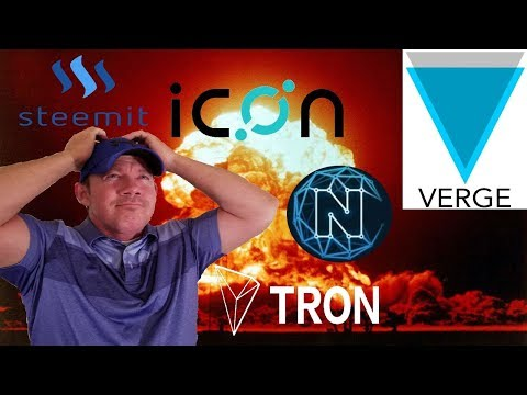 XVG Verge Aftermath! – ICON Coin – NCash fake partnerships?