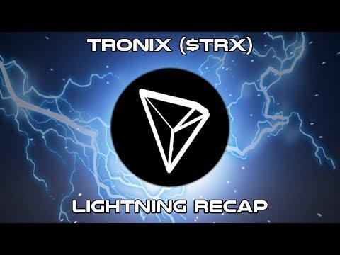 Tronix ($TRX) – Lightning Recap – Cryptocurrency Technical Analysis (2018)