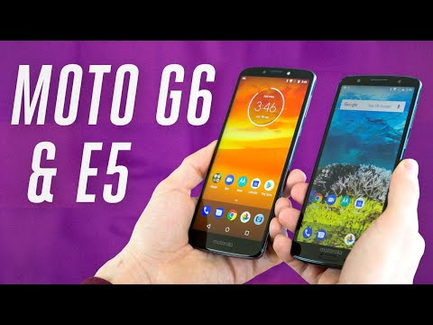 Motorola Moto G6 and E5 hands-on