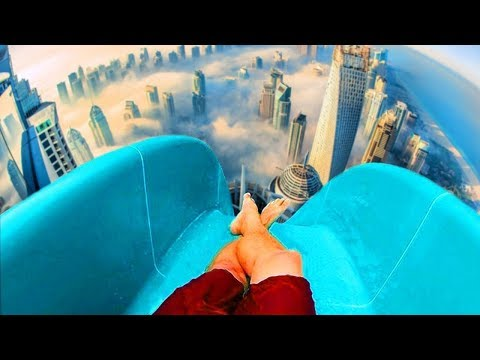 NGERI..! BIKIN KEPALA MAU LEPAS..!! 10 Perosotan Air Gila Yang Ada Di Dunia #YtCrash