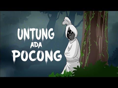 Untung Ada Pocong – Kartun Hantu