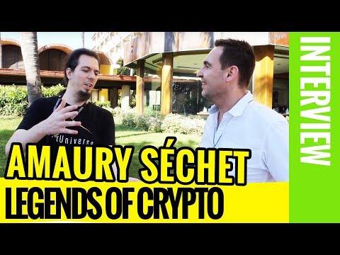Interview: Amaury Séchet – the Bitcoin Cash Creator (Legends Of Crypto)