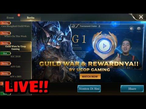 Arena Of Valor || GUILDWARS ada DQ GAMING ! CHECK BERITA AOV !!