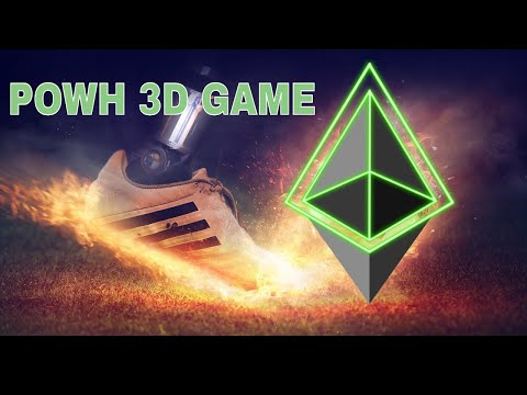 ⚽ PLAY THE GAME – CRYPTOCURRENCY PASSIVE INCOME (POWH 3D) FOOD FOR THOUGHT!