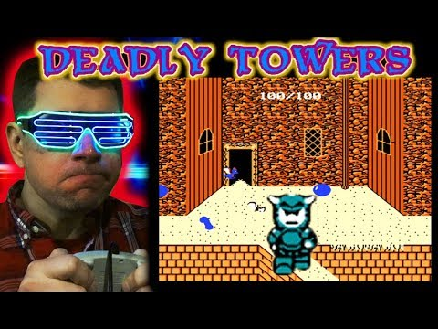 Deadly Towers NES Nintendo Video Game Review Lets play Retro – CHRIS NEO SHOW