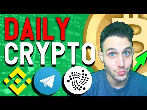 Crypto News: Binance USD Not Happening? IOTA Rollout, Bull Run Continues!
