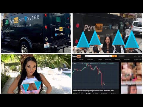 "PORNHUB Launches ""XXX-XVG Bang Truck"" Amid Verge Crypto Currency Acceptance!"