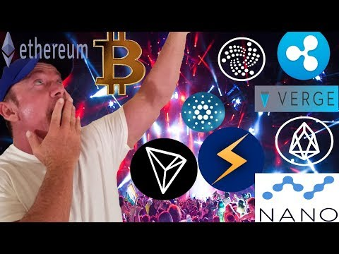 BTC Breaks Out! – Storm Token Review – XVG News – ETH Proof of Stake