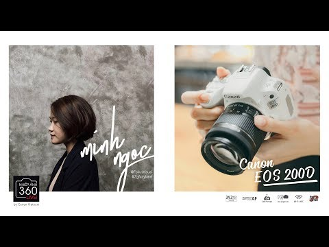 Nhiếp ảnh 360 Live!: EP01: EOS 200D và Food Stylist Minh Ngọc