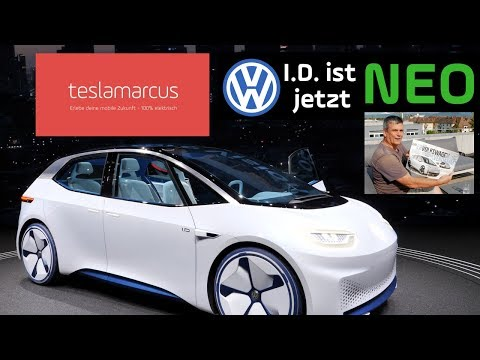 VW NEO – Erste Daten (AutoBild) – Meine persönlichen Eindrücke – Vergleich zu VW I.D. in Genf 4K