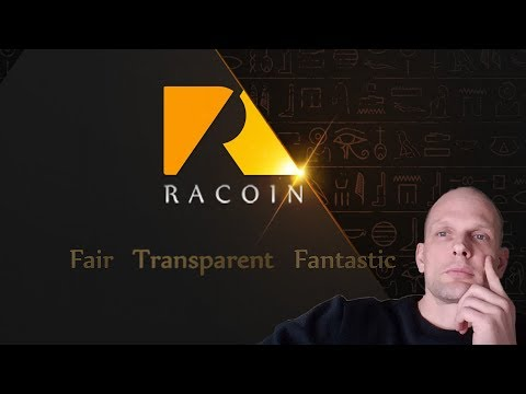 RACOIN CRYPTOCURRENCY ICO REVIEW 2018