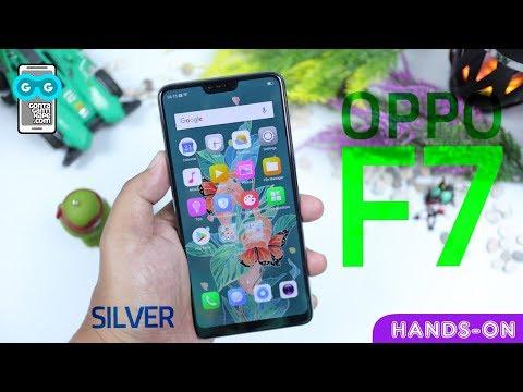 PERTAMA ada OPPO di Channel Ini! Hands-on Oppo F7 Silver Indonesia