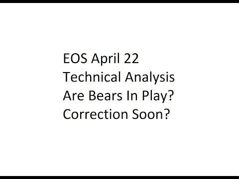 EOS April 22 Technical Analysis – Are Bears In Play? Correction Soon?