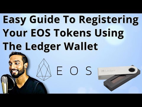How To Register Your EOS Tokens Using The Ledger Nano S