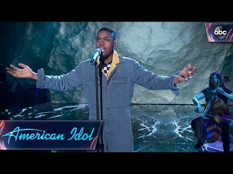 "Michael J. Woodard Sings ""Titanium"" by David Guetta & Sia – Top 14 – American Idol 2018 on ABC"
