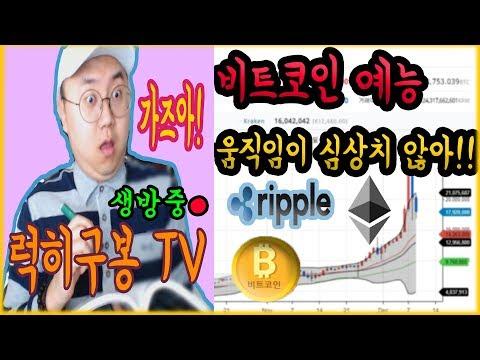 친절한 비트코인 암호화폐 방송 ( 리플 이더리움 ) bitcoin cryptocurrency 4/23 KOR [럭히구봉-LIVE]