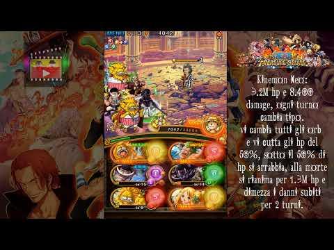 Neo Kinemon 50 stamina Colosseo (Striker, Powerhouse e Free Spirit) [OPTC ITA]