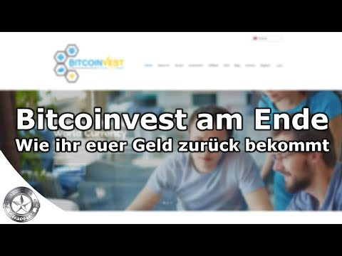 Bitcoinvest beendt Bitcoin Cloud Mining Erstattung Deutsch April 2018