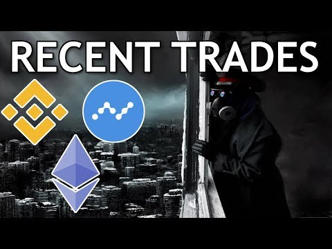 Recent Crypto Buys and Sells: Buying BNB Coin, Selling OmiseGo