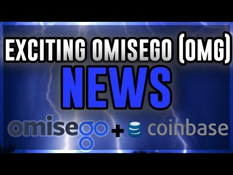 OMISEGO ($OMG) EXCITING News!!!! Coinbase ADDS OmiseGO?! PARTNERSHIP With Shinhan? OmiseGO UPDATE