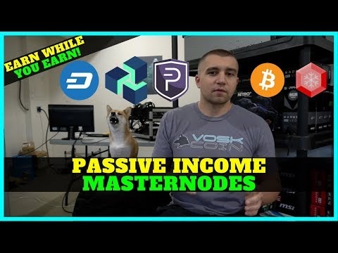Best Way to Earn Passive Income – Cryptocurrency Masternodes