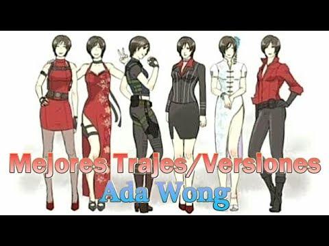 Top 6: Mejores Trajes/Versiones de Ada Wong