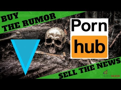 ?PORNHUB & VERGE? – ?BUY the RUMOR – SELL THE NEWS? – ?RICHTIG GELD VERDIENEN mit NEWS?