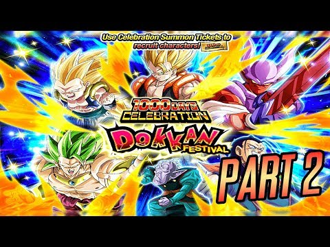 1000 DAYS PART 2 TICKET SUMMONS – BITTE EIN NEO GOD LEADER! DBZ Dokkan Battle
