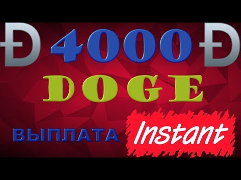 Набомбил 4000 DOGE | Платит –  INSTANT