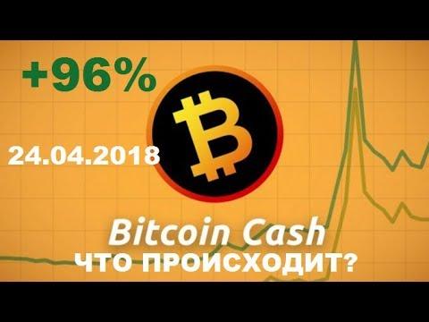 Bitcoin cash,что ты делаешь? +96% за Неделю !