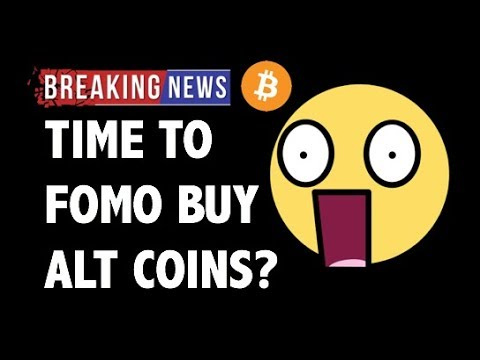 CRYPTO: TIME TO FOMO BUY ALTCOINS?! CRYPTOCURRENCY,BITCOIN,LITECOIN,ETHEREUM,XRP RIPPLE PRICE NEWS