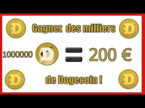 Gagner des Doge coins et les convertir en euros !