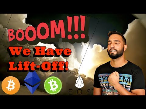 Cryptocurrency Takes Off As Stocks Wobble – Get Ready  / MEW Hack / Billions Of BTC Tokens Rumor