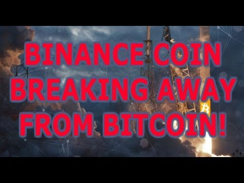 BINANCE COIN (BNB) BREAKING AWAY FROM BITCOIN? (+LITECOIN GIVEAWAY)