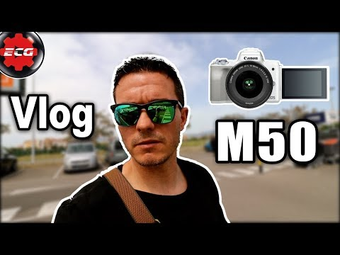 Vlog Canon EOS M50 + objetivo 10/18mm f4.5