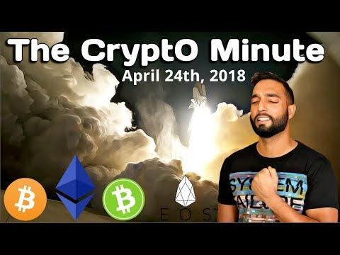 The Crypt0 Minute #18 – EOS Is Unstoppable / MyEtherWallet DNS Server Hack / Much More!