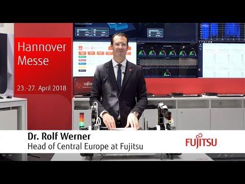 HMI18-Aktuell: Dr. Rolf Werner über Industrie 4.0 und den Fujitsu Stand auf der Hannover Messe (DE)