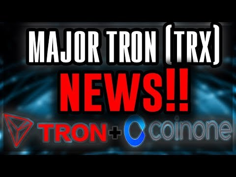 TRON ($TRX) MAJOR News!! Tron Added to New EXCHANGES?! Tron INTEGRATION?! Cryptocurrency News 2018