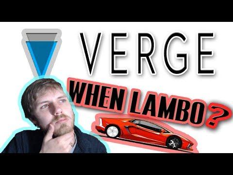 Verge (XVG) & PornHub: When Lambo?