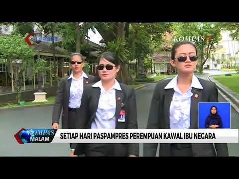 Ada Wanita Tangguh di Barisan Pengawalan Presiden