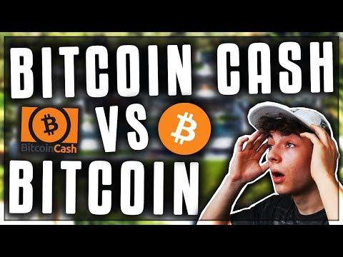 BITCOIN VS BITCOIN CASH! (BCH Hard Fork)! Kryptowährungen deutsch