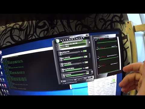 Тест в майнинге MSI ARMOR GTX 1060 6gb Ethereum Zcash