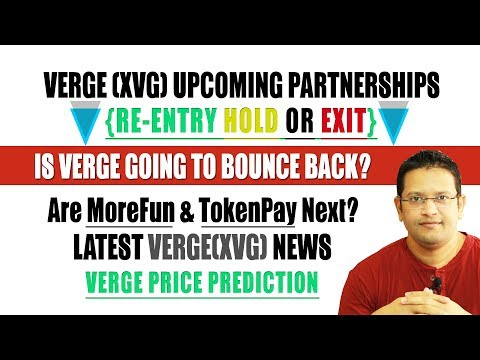 Verge(XVG) Price Bounce Back. Verge($XVG) Possible Upcoming Partnerships could change the rally