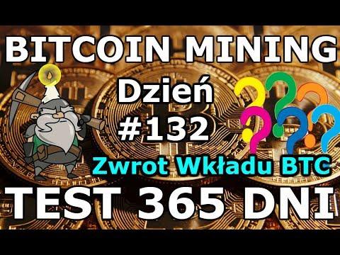 BITCOIN MINING 2018 ? Test Kopalni Dzień #132 Ile Zarabiamy Na Kopaniu Bitcoina w Chmurze