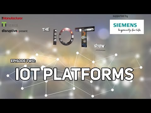 #TheIOTShow – Episode 2: IoT Platforms