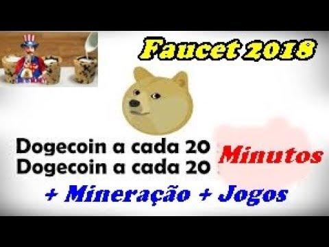 Ganhe Dogecoin A Cada 20 Minutos Faucet + Mineração + Jogo 2018