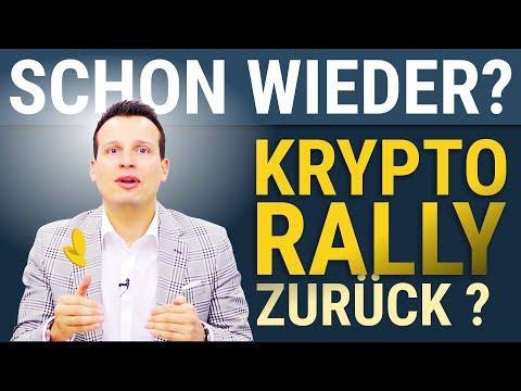 BITCOIN ? Kommt die Krypto-Rally zurück?