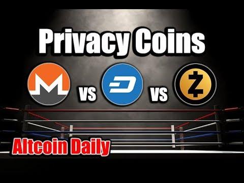 PRIVACY COINS: MONERO vs DASH vs ZCASH