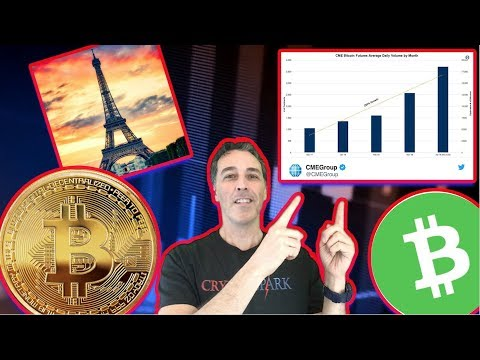 NEWS/BITCOIN FUTURES JUMP ~ FRANCE SLASHES CRYPTO TAX & BITCOIN CASH  DUMPED