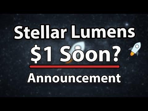 This Stellar Lumens (XLM) Announcement Can Bring Stellar to The Top!
